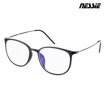 【Nessie尼斯眼鏡】抗藍光眼鏡-羽量系列-雅致黑