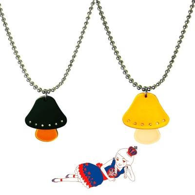 Anna Lou Of London倫敦品牌 Magic魔力蘑菇水晶項鍊