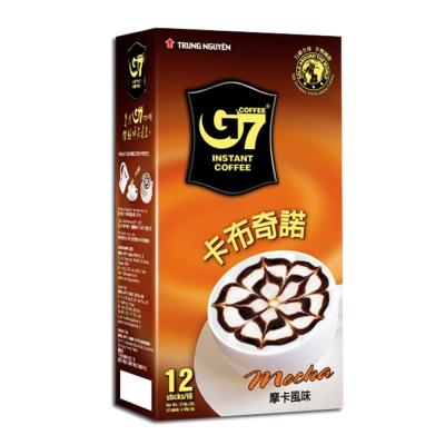 G7卡布其諾-摩卡咖啡-18g-12包