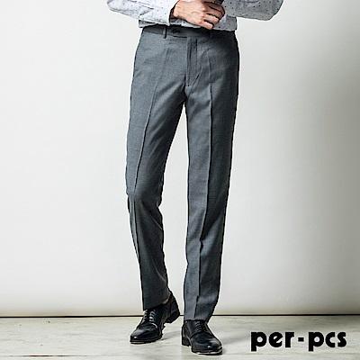 per-pcs 商務品味舒適合身平面西褲_灰色(817109)