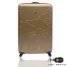Just Beetle世界地圖系列abs材質20吋輕硬殼旅行箱/行李箱-金