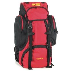 犀牛Vista 超輕透氣網架背包(51公升)-紅