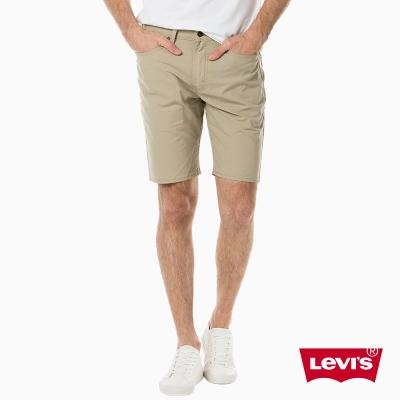 Levis 505淺卡其素色修身休閒短褲