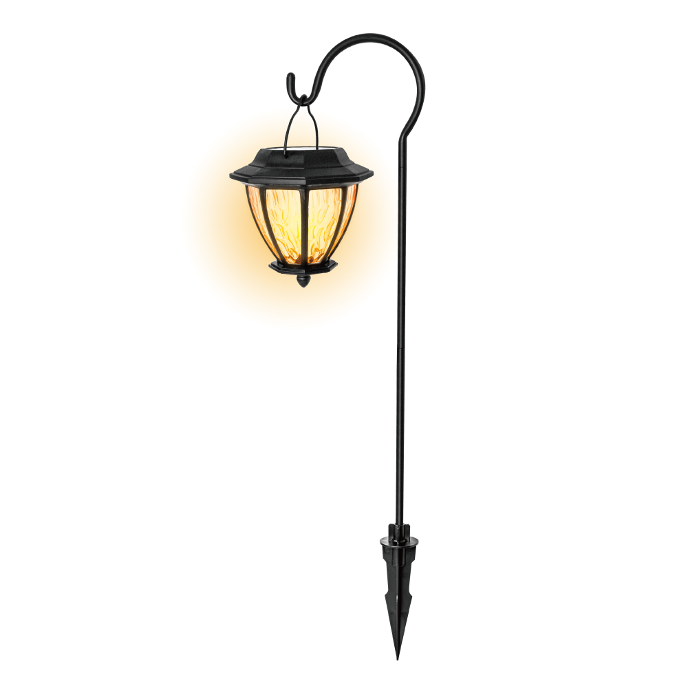 KINYO金屬吊掛太陽能LED庭園燈GL-6030