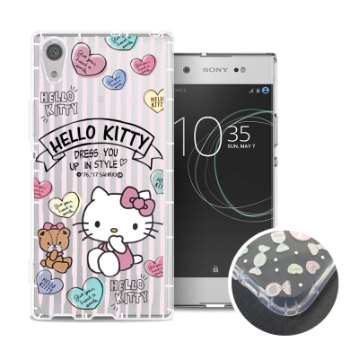 HELLO KITTY Sony Xperia XA1 Ultra 氣墊空壓殼(...