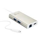 j5create USB Type-C多功能擴充卡-JCA374