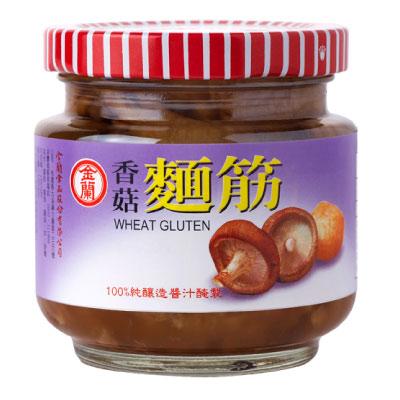 金蘭 香菇麵筋(180gx12入)