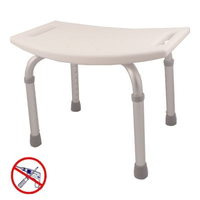 COLOR 霧面鋁合金洗澡椅(免工具組裝)