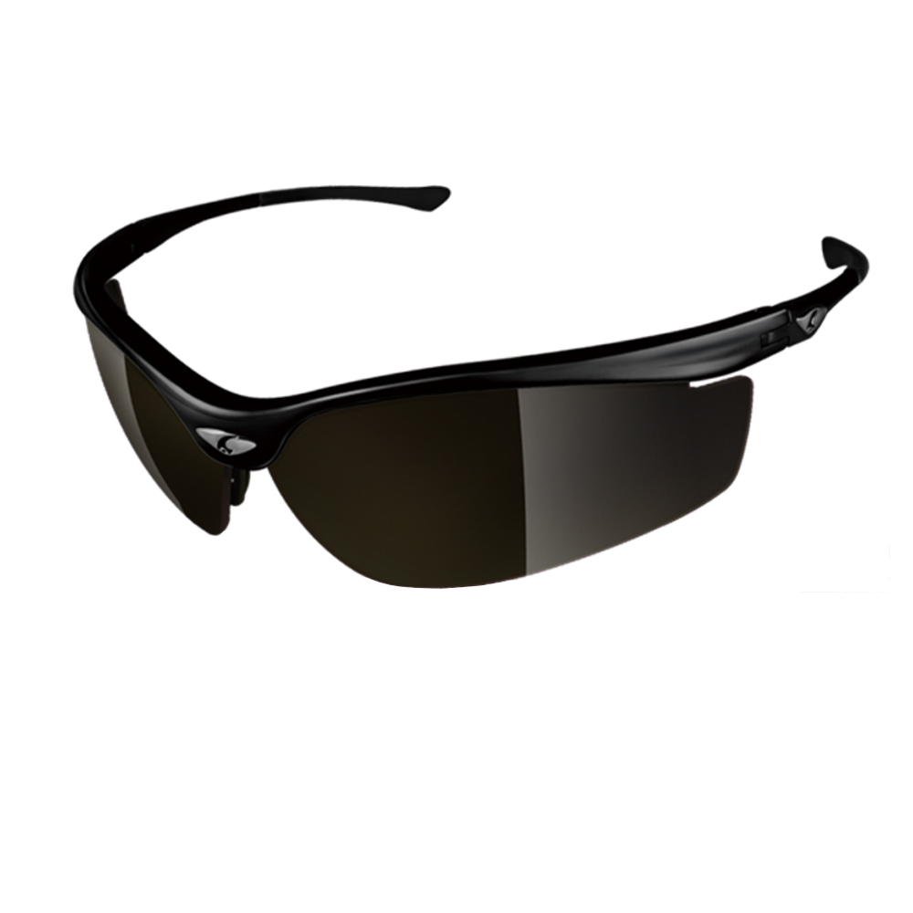 【ADHOC】運動太陽眼鏡-偏光灰片-半框式SPEEDOR