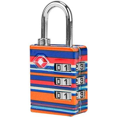 TRAVELON TSA三碼防盜密碼鎖(條紋)