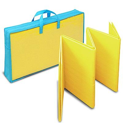 LOG樂格 多功能環保摺疊遊戲墊-豔陽黃 (折疊墊/爬行墊)