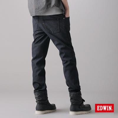 EDWIN-簡約崇尚-W-F-PREMIuM中直筒保溫褲-男款-原藍色