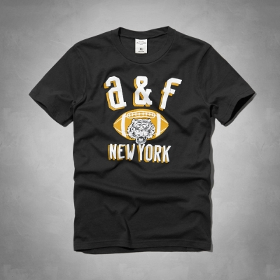 AF a&f Abercrombie & Fitch 短袖 小孩T 黑色 047