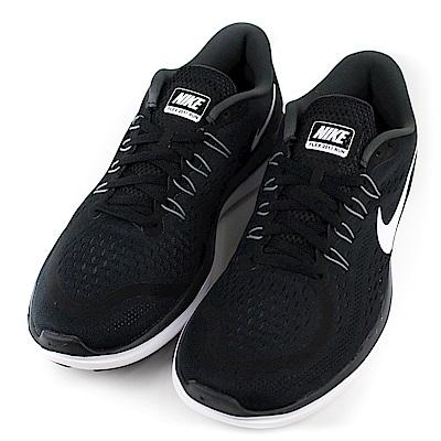 NIKE-FLEX男慢跑鞋898457001-黑