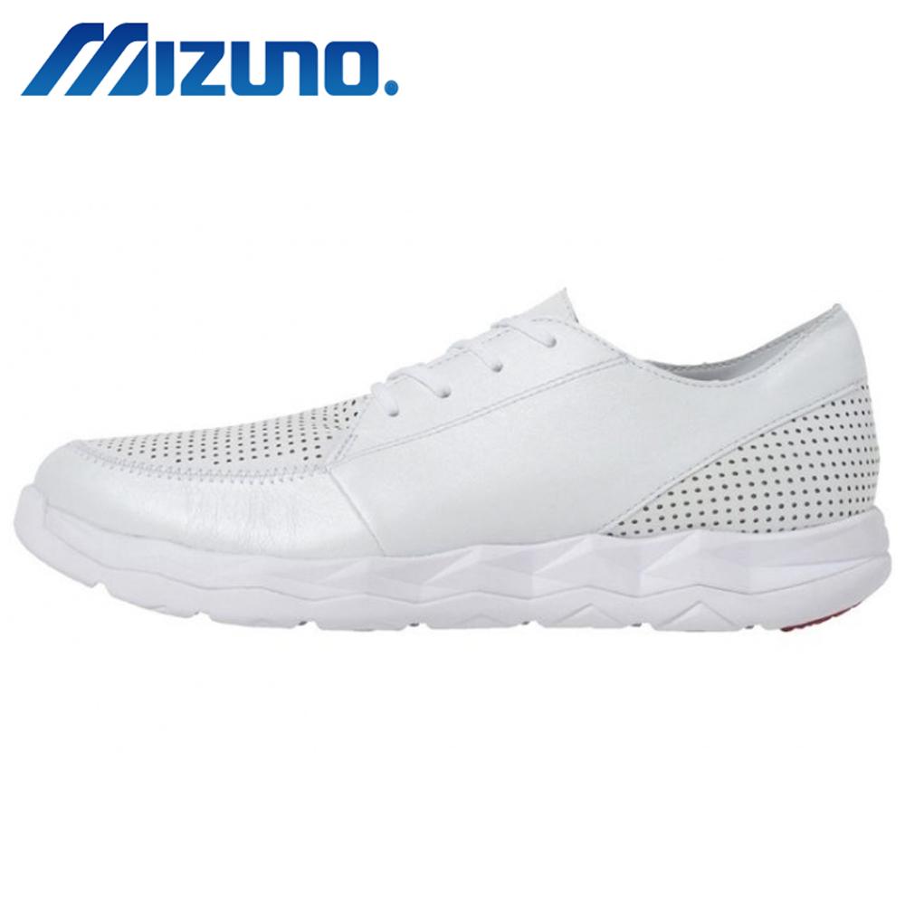 Mizuno WAVE SN WALK CLASSIC 男健走鞋 白