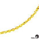 【歷代風華】幸福黃金(約1.77錢)項鍊