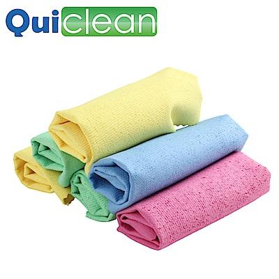 Quiclean 韓版多功能強力吸水PU洗車巾/擦拭布30x40cm-1包/共3入