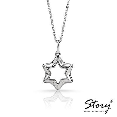 STORY ACCESSORY-大衛之星純銀項鍊