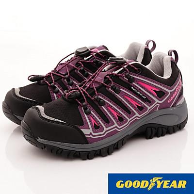 GOODYEAR-多功能防水健行鞋-SE2007紫(女段)
