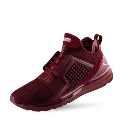 PUMA-IGNITE Limitless Knit男性慢跑運動鞋-西藏紅