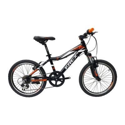 KREX ACTIVE V20-7速兒童車 黑/橘