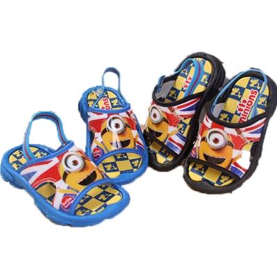 魔法Baby台灣製小小兵授權正版小童涼鞋-sh70