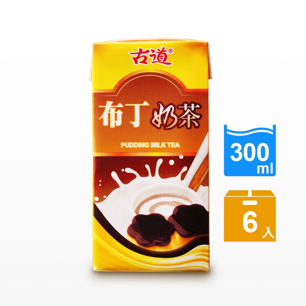 古道 布丁奶茶(300mlx6瓶)