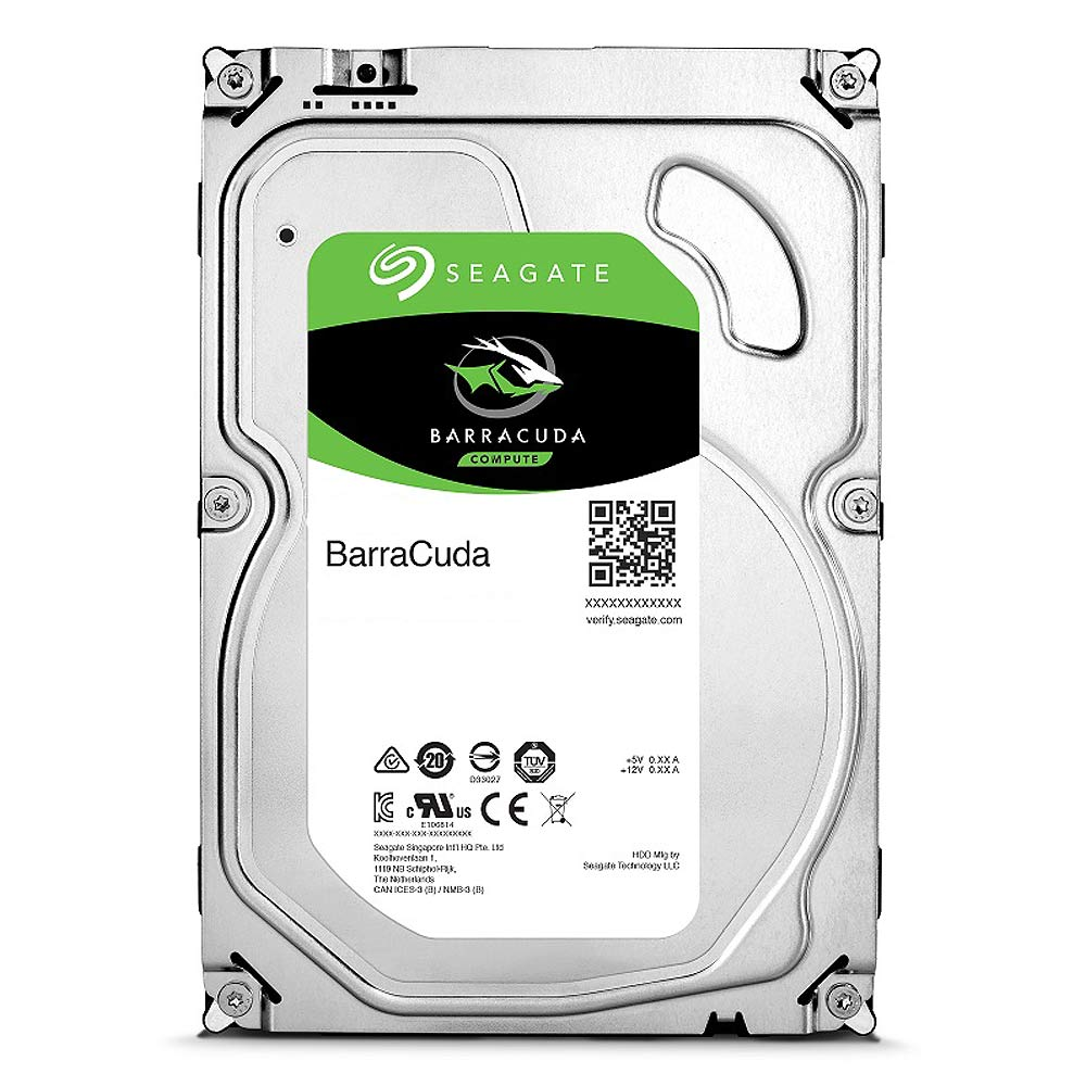 Seagate BarraCuda 新梭魚 1TB 7200轉 3.5吋 SATA3 硬碟