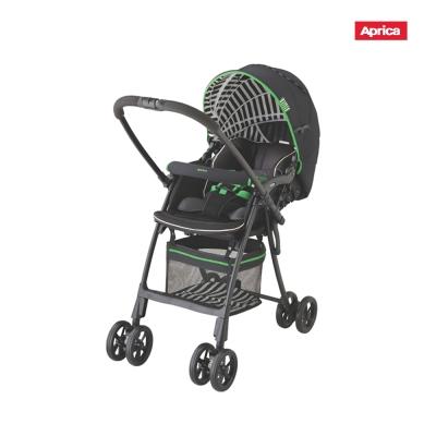 Aprica FLYLE飛舞系列 輕量嬰幼兒雙向手推車 草原綠
