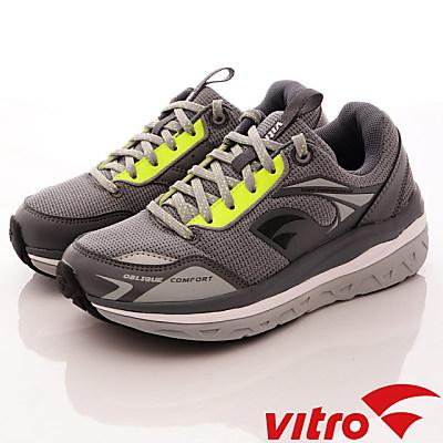 Vitro韓國專業運動品牌-頂級專業健走機能鞋-OC105灰綠(男)