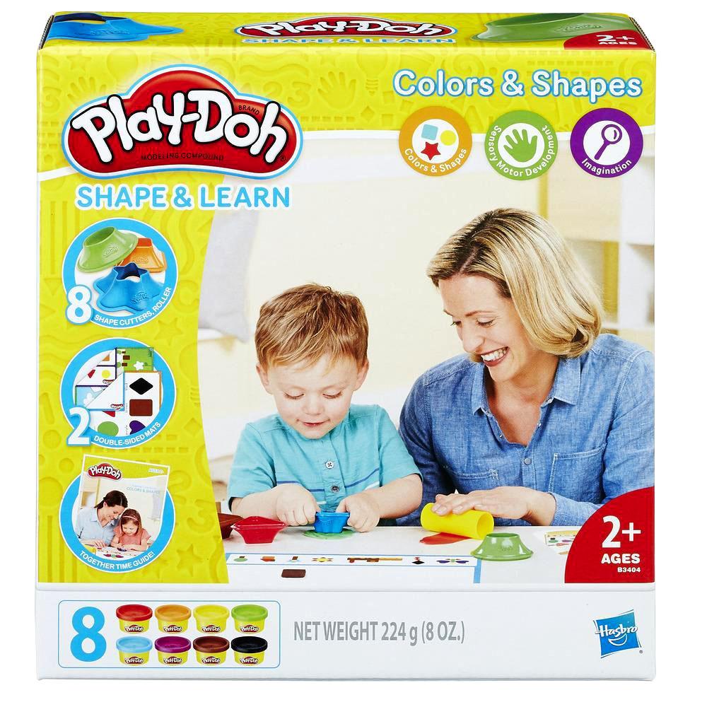 培樂多Play-Doh 創意DIY黏土 色彩形狀學習遊戲組 B3404