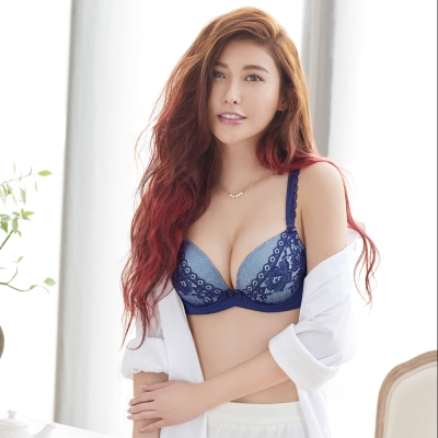 瑪登瑪朵 輕盈軟棉圈內衣  A-C罩杯(極勁藍)