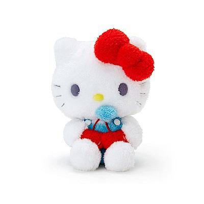 Sanrio HELLO KITTY夏日家居系列絨毛娃娃(愛心櫻桃)