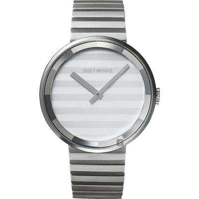 ISSEY MIYAKE 三宅一生PLEASE 時裝系列手錶(SILAAA05Y)-40mm