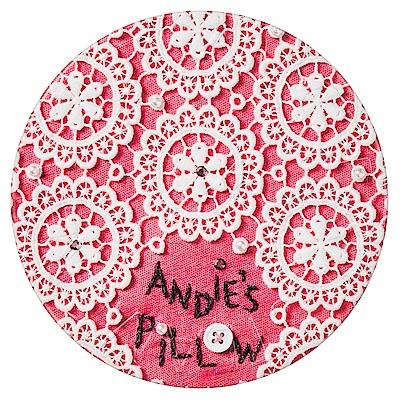 STEAMCREAM蒸汽乳霜 744-ANDIES PILLOW-甜美粉色花邊