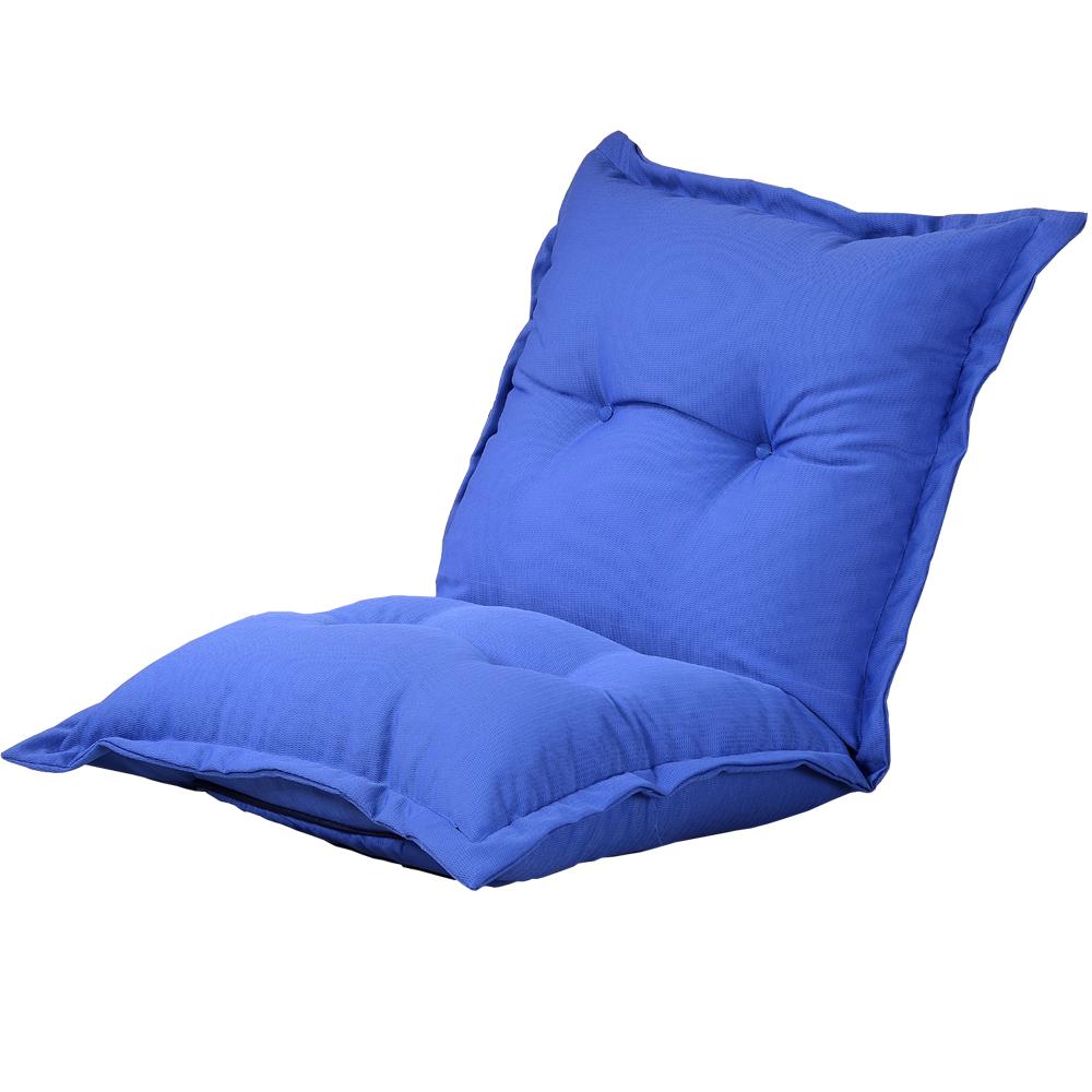 【戀香】胖嘟嘟加寬加厚五段式透氣和室椅(藍)