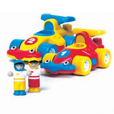 英國【WOW Toys 驚奇玩具】方程式小賽車 極速兄弟
