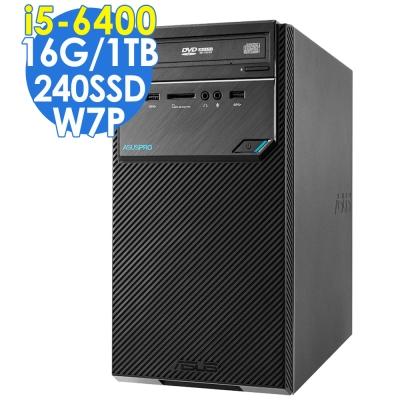 ASUS D320MT i5-6400/16G/1T/240SSD/W7P