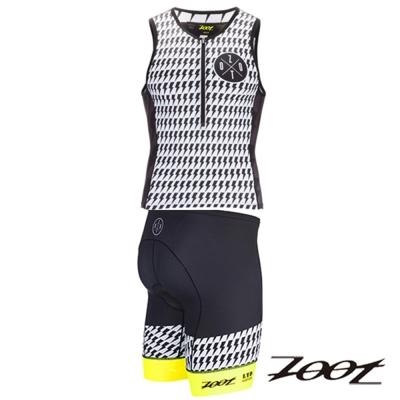 ZOOT頂級特仕款鐵人服(二截式)(男)Z1606041+42(螢光黃)