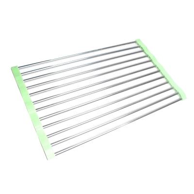 STAINLESS STEEL 簡單收納多功能防滑瀝水架