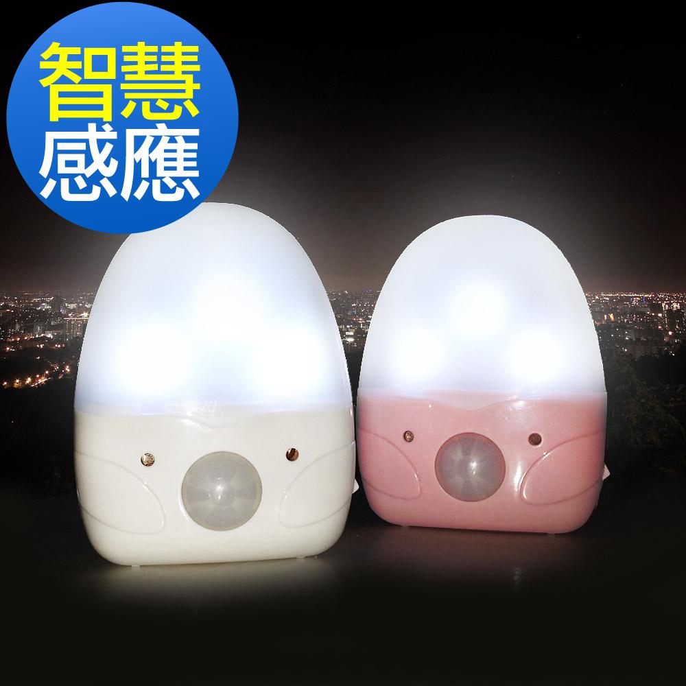 艾法科技AIFA 動感應節能LED人體感應照明小夜燈AFSL-02【兩色可選】