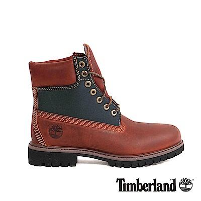 Timberland 男款咖啡色粒面Icon GORE-TEX靴