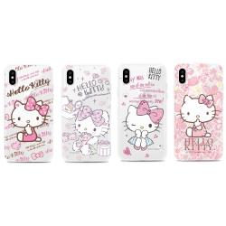 GARMMA Hello Kitty iPhone X 空壓氣墊軟殼-水鑽系列