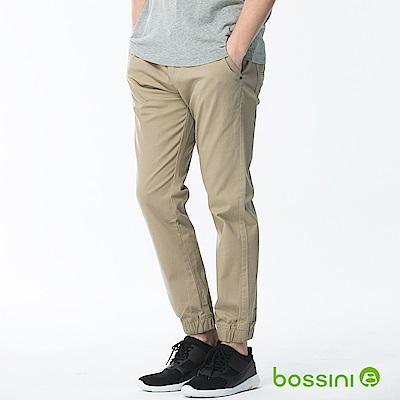 bossini男裝-輕鬆束口長褲01卡其