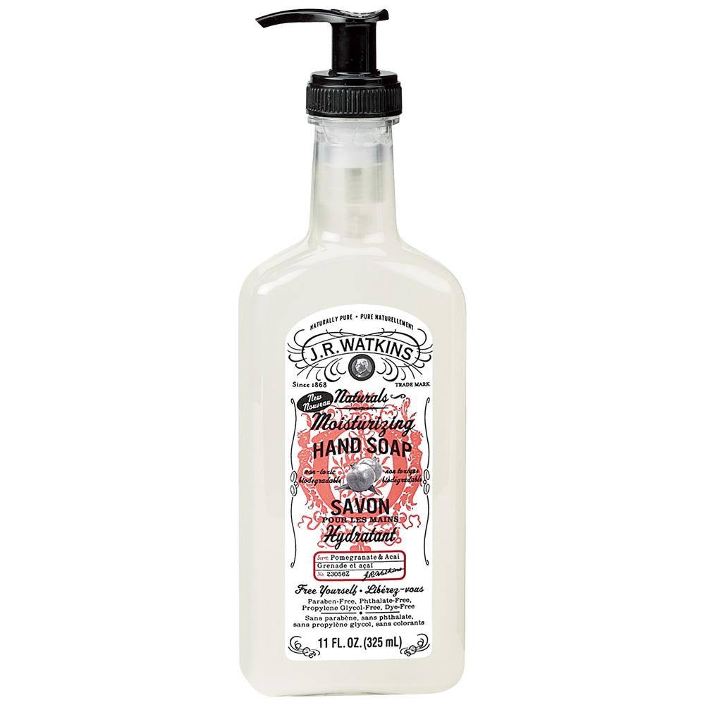 J.R. Watkins 紅石榴草本潔淨洗手皂 325mL