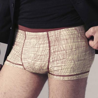 DAYNEER-時尚系列-四角褲M10006-薄暮黃
