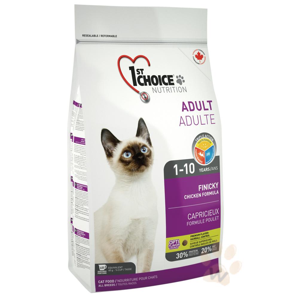 瑪丁 第一優鮮貓糧 挑嘴成貓5.44kg 1入
