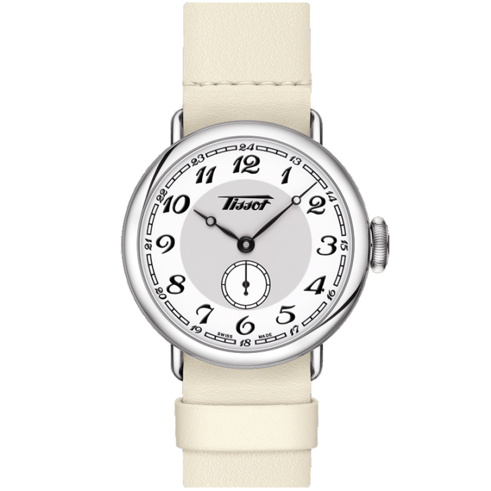 TISSOT 天梭 Heritage 1936 懷錶式機械腕錶-35mm @ Y!購物
