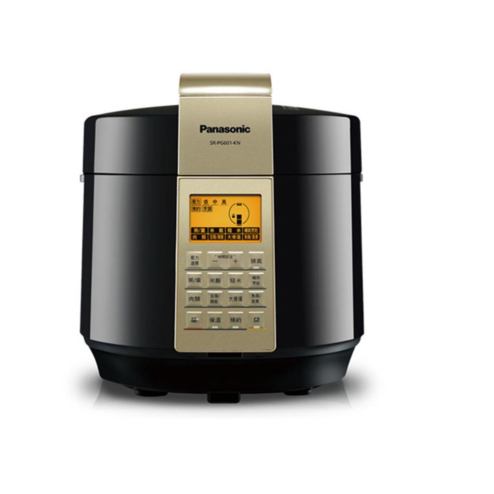 Panasonic 國際牌 6公升 微電腦壓力鍋 SR-PG601