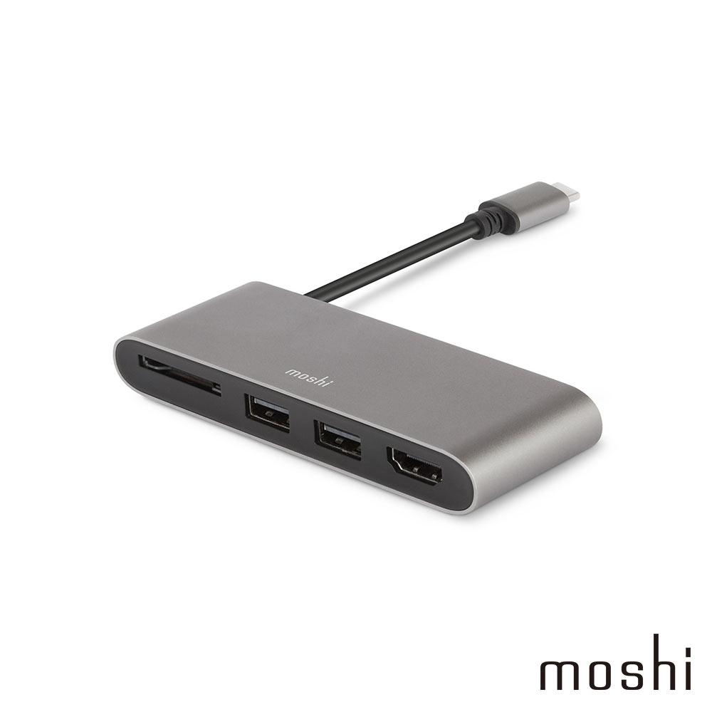 Moshi USB-C 多媒體轉接器